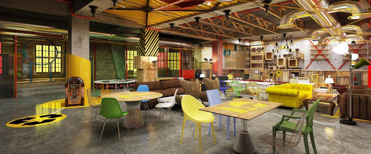 MyHQ Mtv Flyp Coworking Space Connaught Place