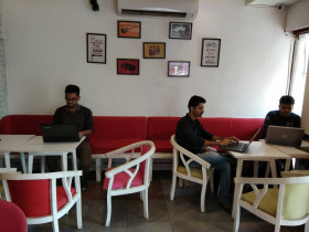 Myinstapass work cafe Connaught Place